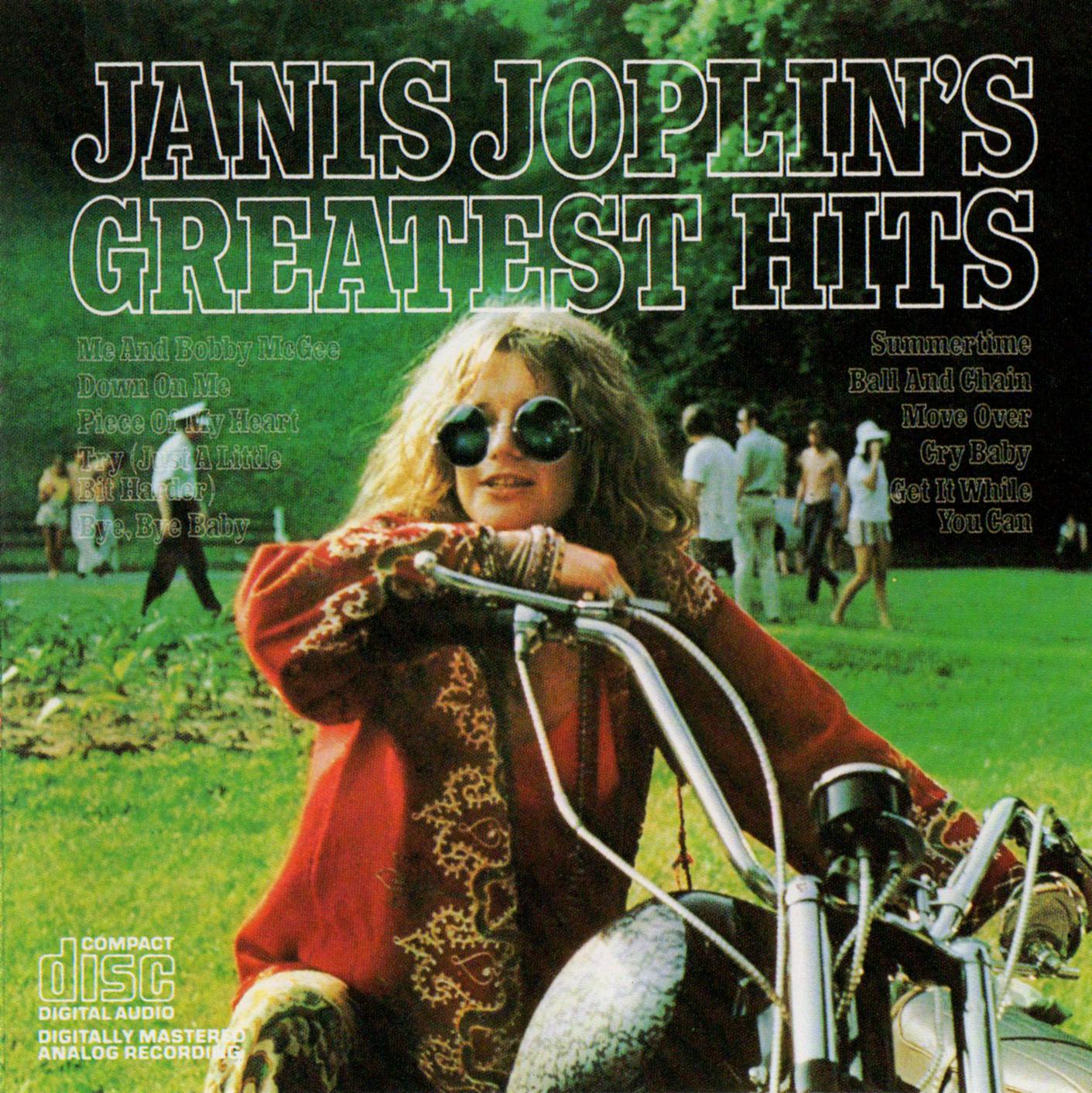 Janis Joplin (ジャニス・ジョプリン)『Janis Joplin's Greatest Hits (ジャニス・ジョプリン・グレイテスト・ヒッツ)』高画質CDジャケット画像