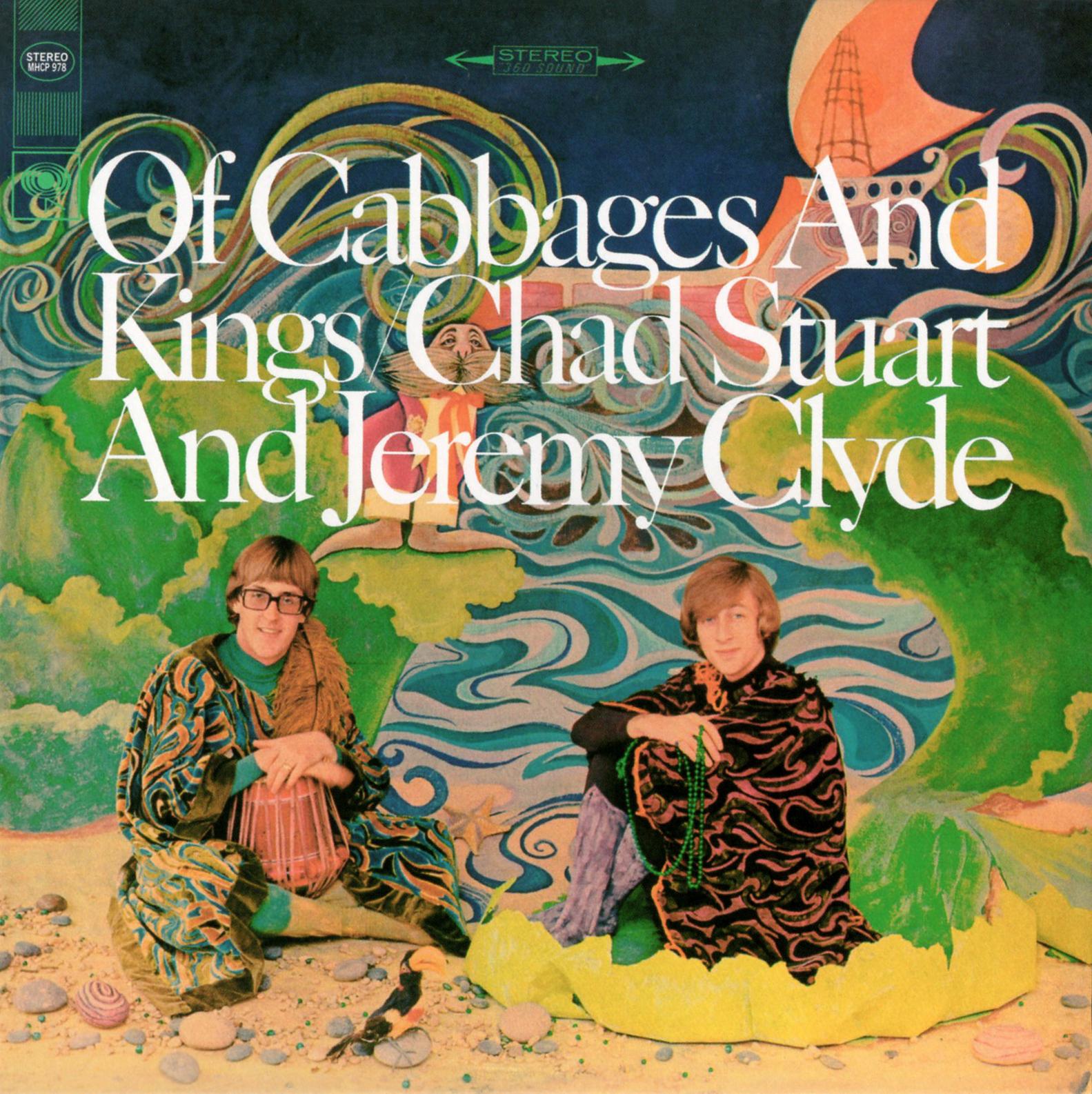 Chad & Jeremy (チャド&ジェレミー) 8thアルバム『Of Cabbages And Kings (キャベツと王様)』紙ジャケCD(2006年3月24日発売) 高画質ジャケット画像