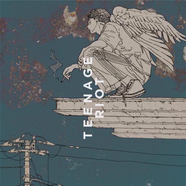 米津玄師 (よねづけんし) 9thシングル『Flamingo/TEENAGE RIOT』(ティーンエイジ盤) 高画質CDジャケット画像