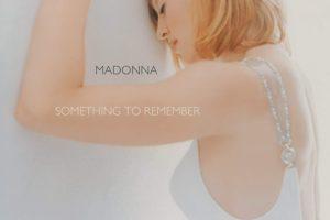 Madonna (マドンナ) 1stバラード・ベスト・アルバム『Something to Remember (ベスト・オブ・マドンナ〜バラード・コレクション〜)』(1995年11月10日発売)高画質CDジャケット画像
