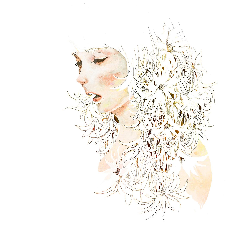 米津玄師 (よねづけんし) 1stシングル『サンタマリア』(2013年5月29日発売) 高画質CDジャケット画像