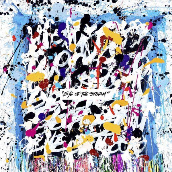 ONE OK ROCK (ワンオクロック) 9thアルバム『Eye of the Storm (アイ・オブ・ザ・ストーム)』(海外盤) 高画質CDジャケット画像