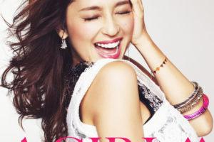 DJ和 (ディージェイかず)『A GIRL↑↑ mixed by DJ和』(2013年1月16日発売) 高画質CDジャケット画像