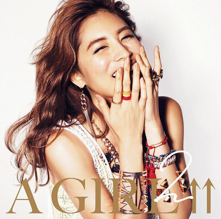 DJ和『A GIRL↑↑2 mixed by DJ和』(2013年12月4日発売) 高画質ジャケ写