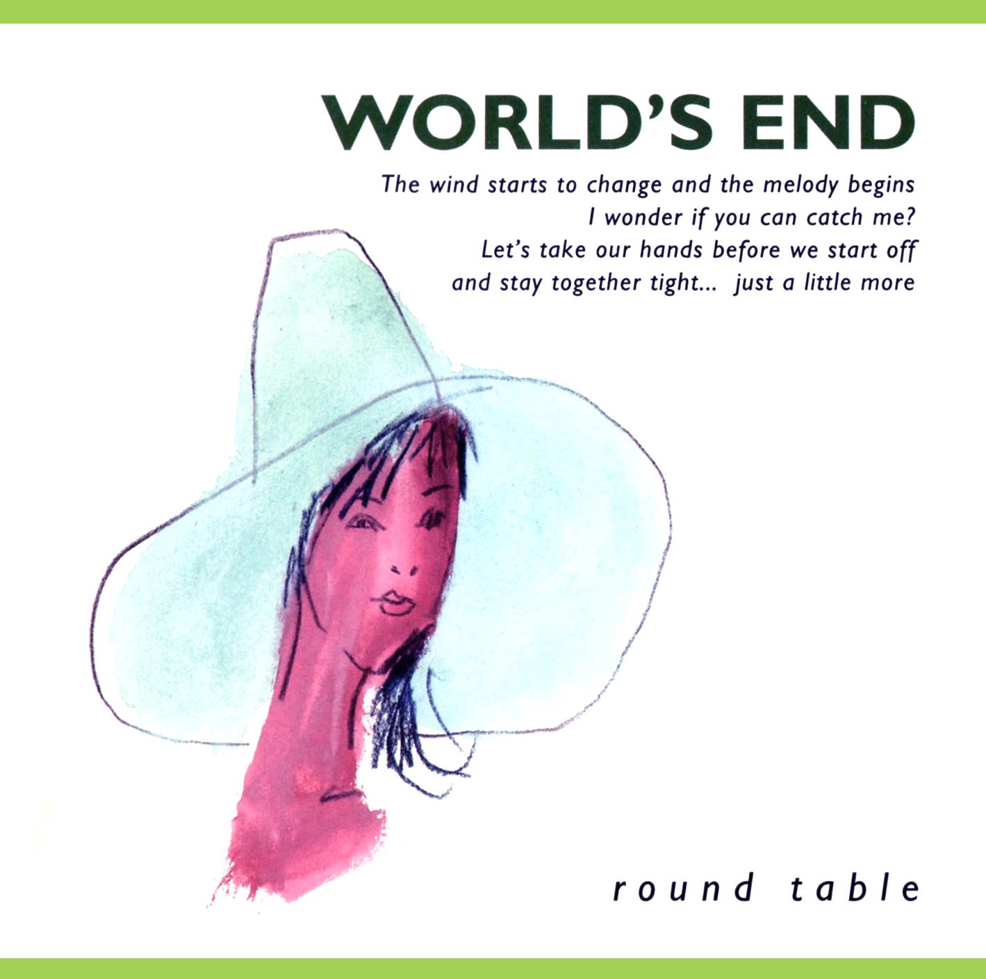 ROUND TABLE (ラウンド・テーブル) 1stミニアルバム『WORLD'S END (ワールズ・エンド)』(1997年8月27日発売) 高画質CDジャケット画像
