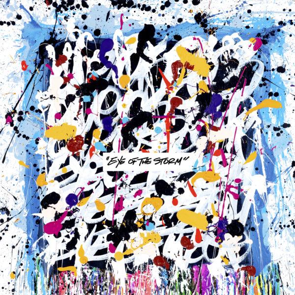 ONE OK ROCK (ワンオクロック) 9thアルバム『Eye of the Storm (アイ・オブ・ザ・ストーム)』(海外ver.) 高画質ジャケ写