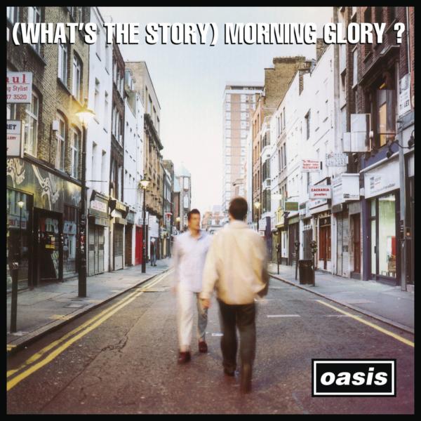 oasis (オアシス) 2ndアルバム『(What's the Story) Morning Glory? (モーニング・グローリー)』(1995年10月2日発売) 高画質CDジャケット画像