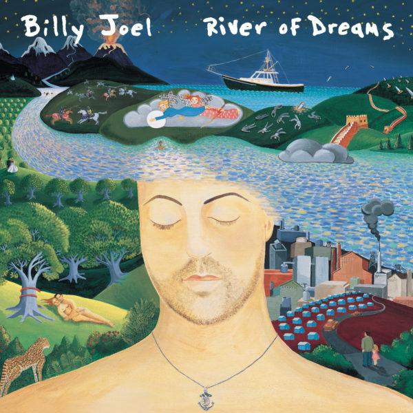 Billy Joel (ビリー・ジョエル) 12thアルバム『River Of Dreams (リヴァー・オブ・ドリームス)』高画質ジャケ写