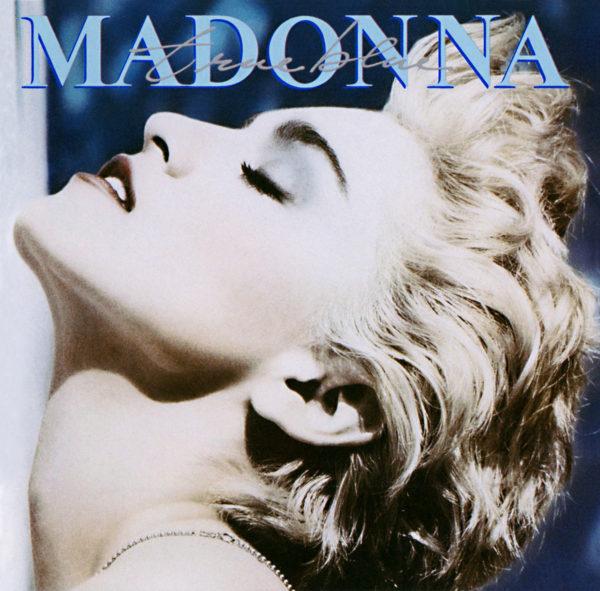 Madonna (マドンナ) 3rdアルバム『True Blue (トゥルー・ブルー)』(1986年7月25日発売) 高画質CDジャケット画像