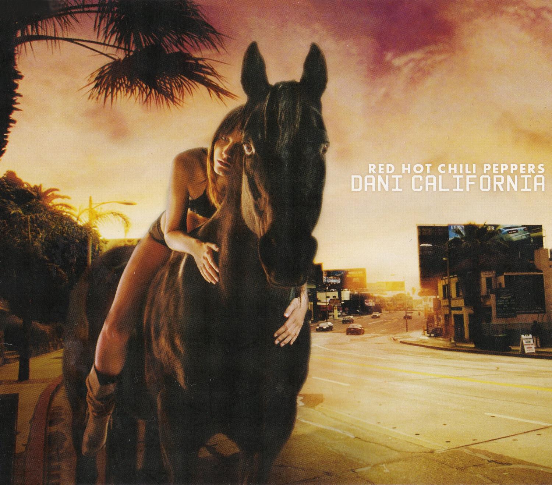 Red Hot Chili Peppers (レッド・ホット・チリ・ペッパーズ) シングル『Dani California (ダニー・カリフォルニア)』(2006年発売)高画質CDジャケット画像