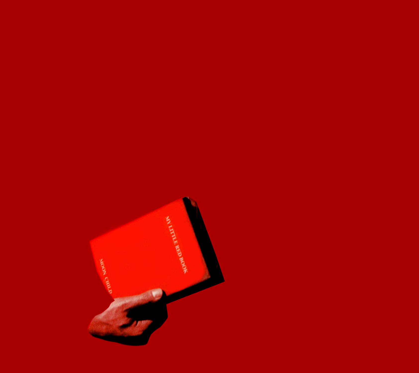 MOON CHILD (ムーンチャイルド) 2ndアルバム『MY LITTLE RED BOOK (マイ・リトル・レッド・ブック)』(初回限定盤)高画質CDジャケット画像