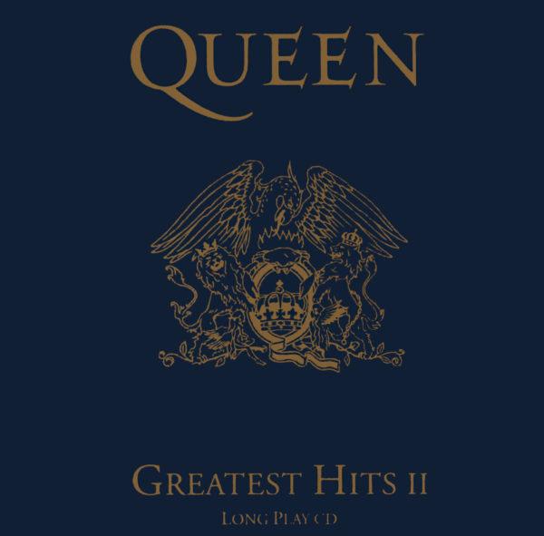 Queen (クイーン) ベスト・アルバム『Greatest Hits II (グレイテスト・ヒッツ vol.2)』(1991年11月発売) 高画質CDジャケット画像