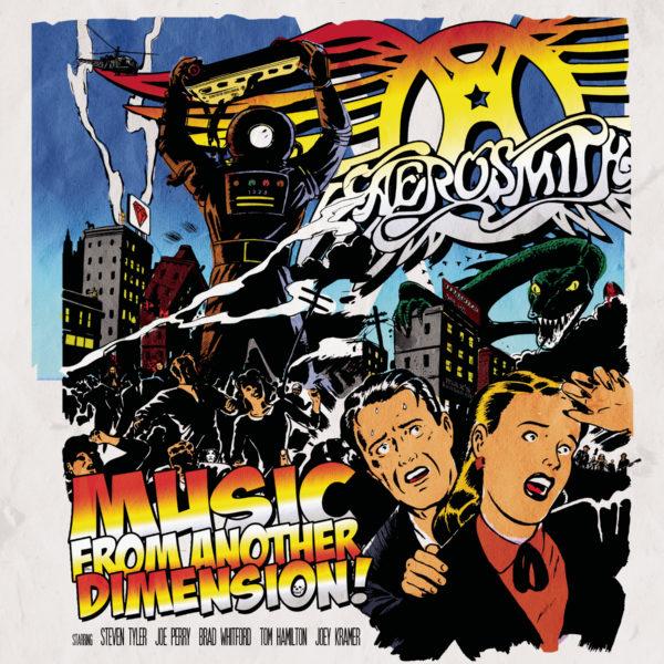 Aerosmith (エアロスミス) 14thアルバム『Music From Another Dimension! (ミュージック・フロム・アナザー・ディメンション!)』(2012年11月7日発売) 高画質ジャケ写