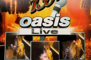 oasis (オアシス) ブート盤『1996 oasis Live』(1996年発売) 高画質CDジャケット画像