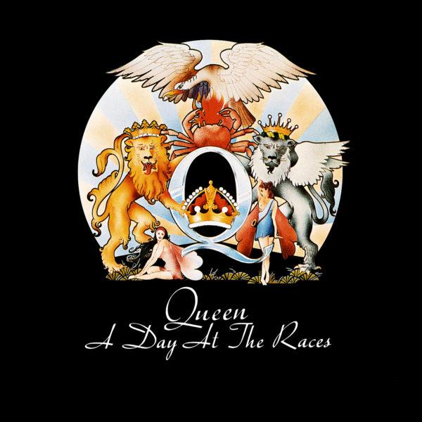 Queen (クイーン) 5thアルバム『A Day at The Races (華麗なるレース)』(1976年12月発売) 高画質CDジャケット画像