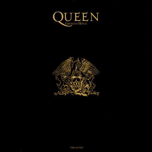 Queen (クイーン) ベスト・アルバム『Greatest Hits II (グレイテスト・ヒッツ vol.2)』(2016年9月21日発売) 高画質CDジャケット画像