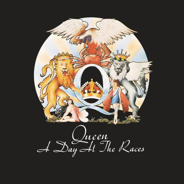Queen (クイーン) 5thアルバム『A Day at The Races (華麗なるレース)』(1976年12月発売) 高画質ジャケ写