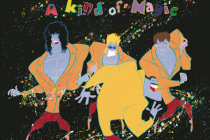 Queen (クイーン) 12thアルバム『A Kind of Magic (カインド・オブ・マジック)』高画質ジャケ写
