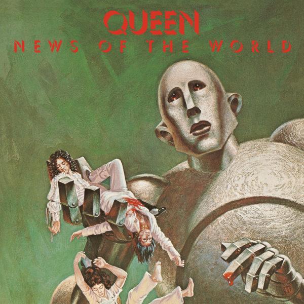Queen (クイーン) 6thアルバム『News Of The World (世界に捧ぐ)』(1977年10月発売) 高画質CDジャケット画像
