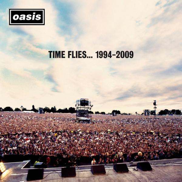 oasis (オアシス) ベスト・アルバム『Time Flies… 1994–2009 (タイム・フライズ…1994-2009)』(2010年6月9日発売) 高画質CDジャケット画像