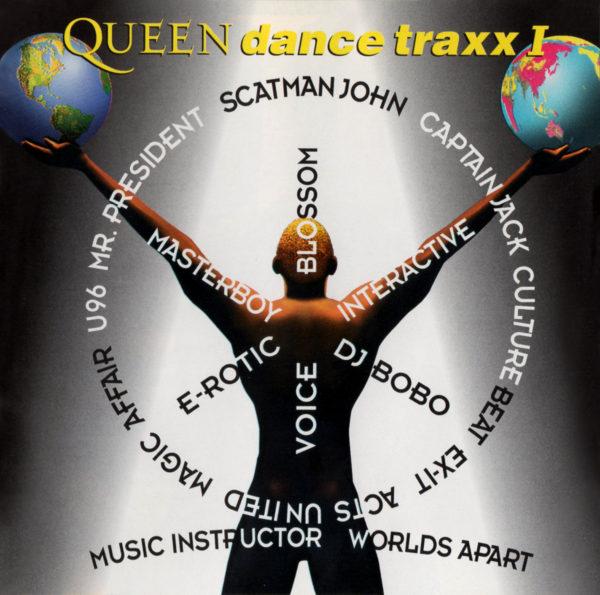 オムニバス・アルバム『Queen dance traxx I (クイーン・ダンス・トラックス I)』(2006年発売)高画質CDジャケット画像