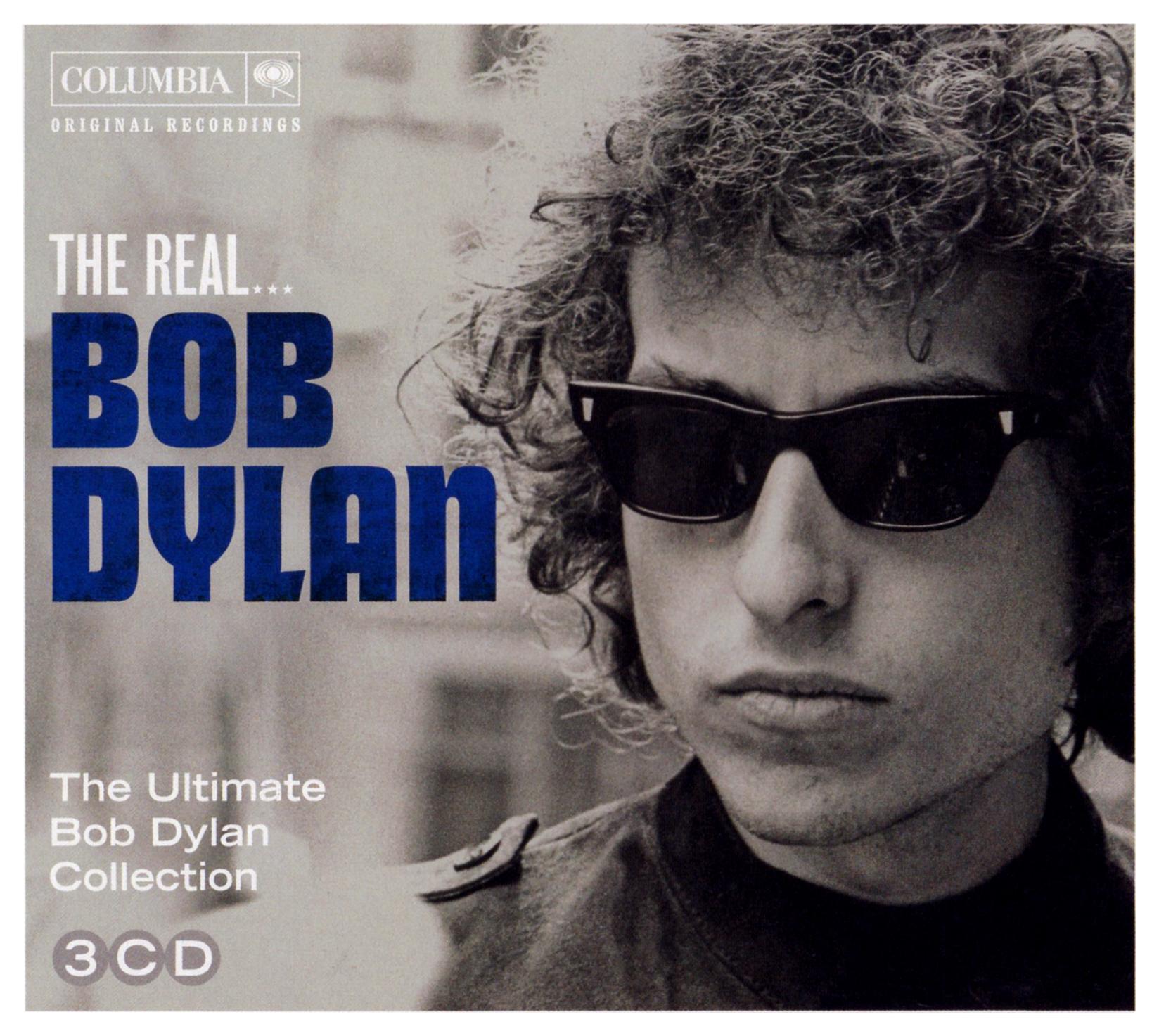 Bob Dylan (ボブ・ディラン) 3枚組ベスト・アルバム『THE REAL… The Ultimate Bob Dylan Collection』(2012年11月22日発売) 高画質CDジャケット画像