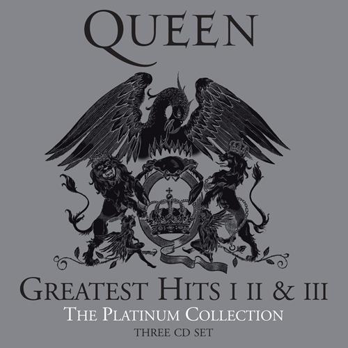 Queen (クイーン) ベスト・アルバム『Platinum Collection, Greatest Hits I II & III (クイーン・プラチナム・コレクション)』(2011年6月22日発売盤) 高画質CDジャケット画像