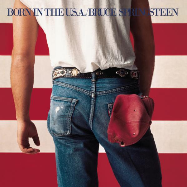 Bruce Springsteen (ブルース・スプリングスティーン) 7thアルバム『BORN IN THE U.S.A.(ボーン・イン・ザ・U.S.A.)』高画質ジャケ写