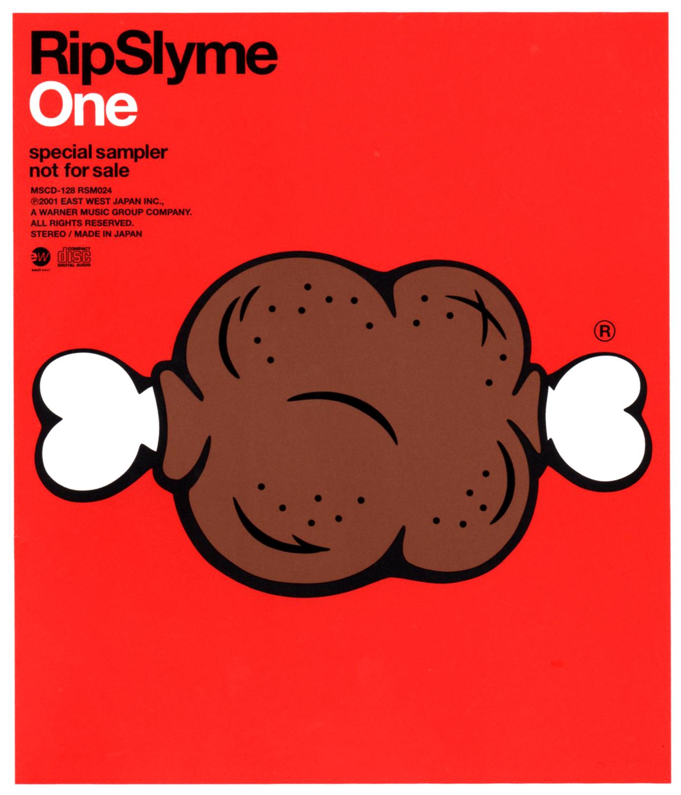 RIP SLYME (リップスライム) 3rdシングル『One (ワン)』(special sampler) 高画質CDジャケット画像