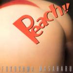 福山雅治 (ふくやままさはる) 13thシングル『Peach!!/Heart of Xmas (ピーチ!!/ハート オブ クリスマス)』(1998年11月5日発売)高画質CDジャケット画像