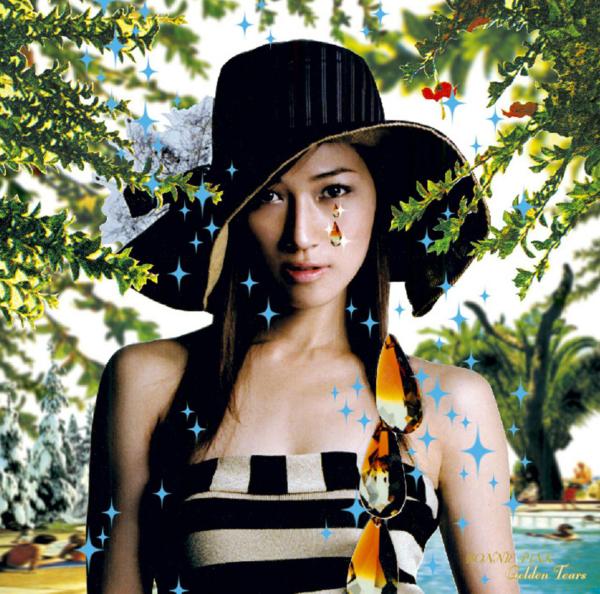 BONNIE PINK (ボニー・ピンク) 8thアルバム『Golden Tears』(2005年9月21日発売) 高画質CDジャケット画像