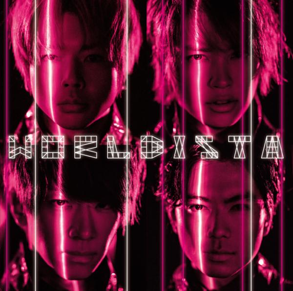 NEWS (ニュース) 10thアルバム『WORLDISTA (ワールディスタ)』(通常盤) 高画質CDジャケット画像