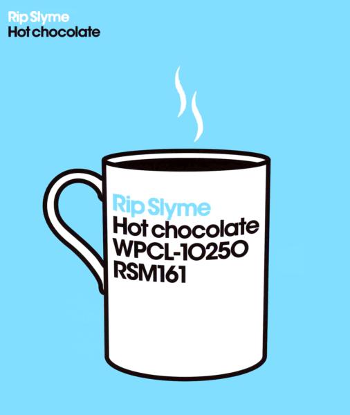 Rip Slyme (リップスライム) 11thシングル『Hot chocolate』(通常盤) 高画質CDジャケット画像