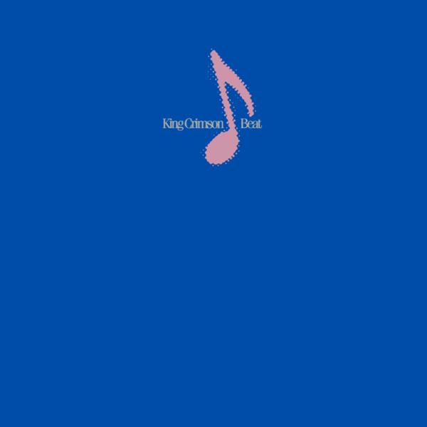King Crimson (キング・クリムゾン)アルバム『Beat (ビート)』(1982年発売)高画質 CDジャケット画像
