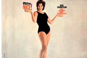 Bob Thompson, His Chorus And Orchestra (ボブ・トンプソン) 2ndアルバム『mmm NICE! (ンー、ナイス!)』(2006年5月24日発売 初回限定紙ジャケット仕様) 高画質CDジャケット画像