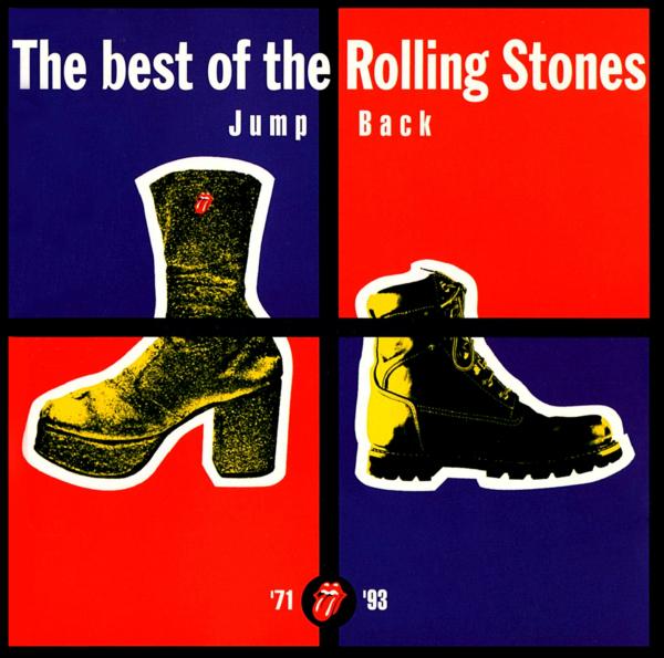 Rolling Stonesベスト・アルバム『Jump Back The best of The Rolling Stones (ジャンプ・バック〜ザ・ベスト・オブ・ザ・ローリング・ストーンズ)』(1993年11月22日発売) 高画質CDジャケット画像