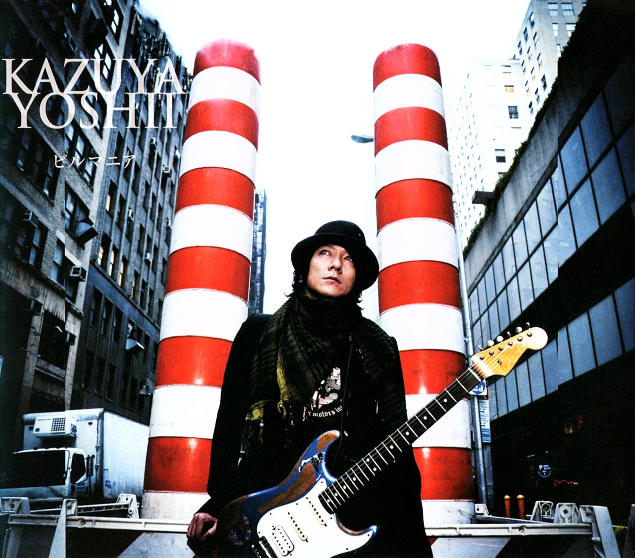 吉井和哉 (KAZUYA YOSHII) 10thシングル『ビルマニア』(2009年1月28日発売) 高画質CDジャケット画像