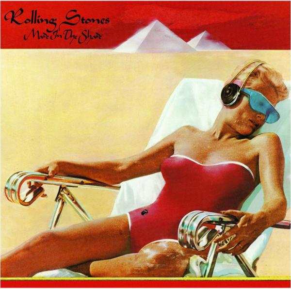 The Rolling Stones (ザ・ローリング・ストーンズ) ベスト・アルバム『Made In The Shade (メイド・イン・ザ・シェイド)』(1975年発売) 高画質ジャケ写