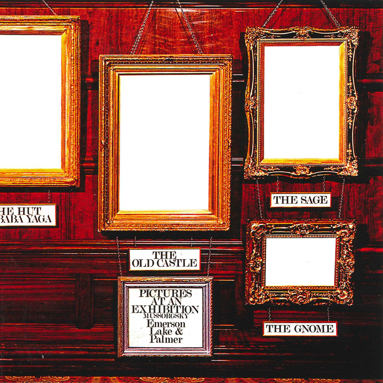 Emerson, Lake And Palmer (エマーソン・レイク・アンド・パーマー) 3rdアルバム ライブ・アルバム『Pictures at an Exhibition (展覧会の絵)』(1971年11月発売) 高画質CDジャケット画像
