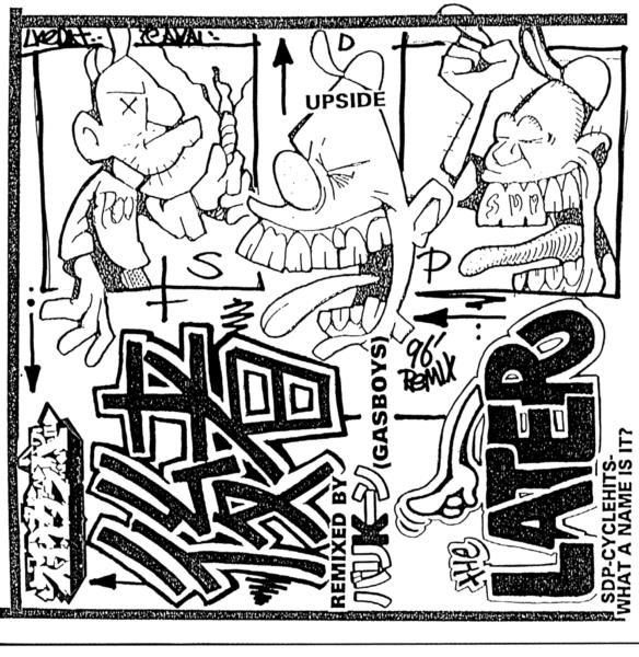 """後者 -THE LATTER- """"Remixed by DJ バリK""""〜ん (GAS BOYS) のジャケット画像"""