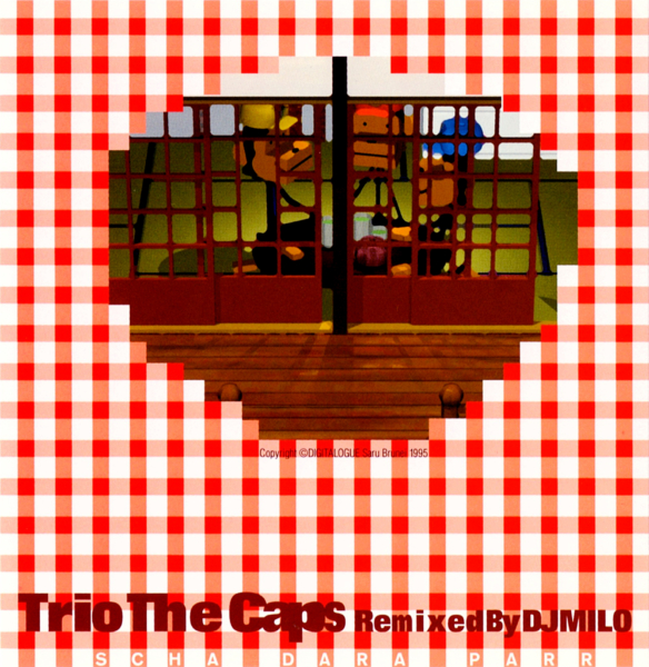 "Trio The Caps ""Remixed by DJ MILO の高画質CDジャケット画像"