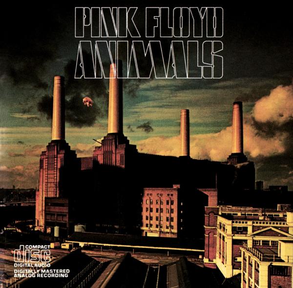 Pink Floyd (ピンク・フロイド) 『Animals (アニマルズ)』(1996年発売US盤) 高画質CDジャケット画像