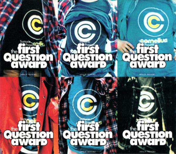 Cornelius (コーネリアス) 1stアルバム『THE FIRST QUESTION AWARD (Trattoria Menu.29)』(初回限定盤スリーブケース) 高画質CDジャケット画像