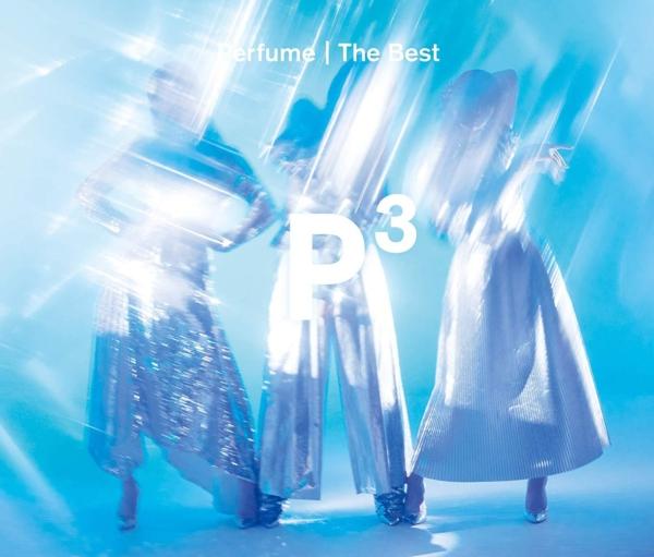 """Perfume (パフューム) オールタイム・ベスト・アルバム『Perfume The Best """"P Cubed""""(パフューム・ザ・ベスト・ピー・キューブド)』高画質CDジャケット画像 ジャケ写"""