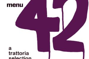 オムニバスアルバム『MENU 42 / A TRATTORIA SELECTION (メニュー・42 トラットリア・セレクション)』(1994年8月1日発売) 高画質CDジャケット画像 (ジャケ写)