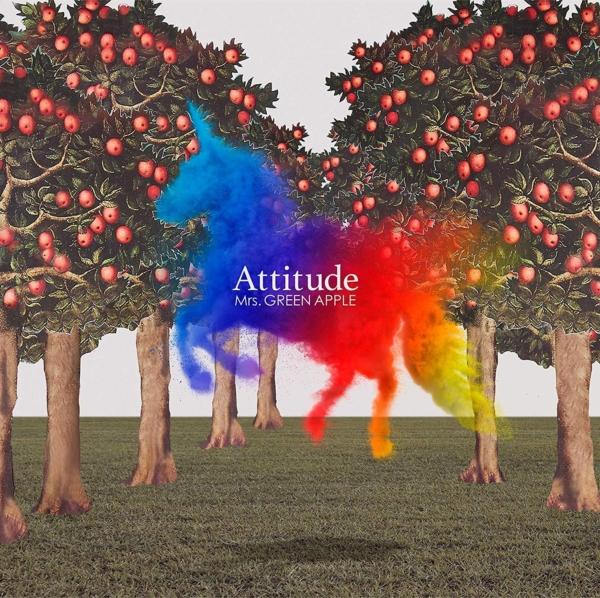 Mrs. GREEN APPLE (ミセス・グリーン・アップル) 4thアルバム『Attitude (アティチュード)』(通常盤) 高画質CDジャケット画像