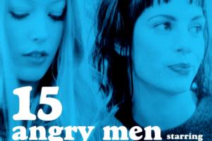 カジヒデキ 3rdアルバム『15人の怒れる男たち ~15 ANGRY MEN』(プロモ盤) 高画質CDジャケット画像 (ジャケ写)