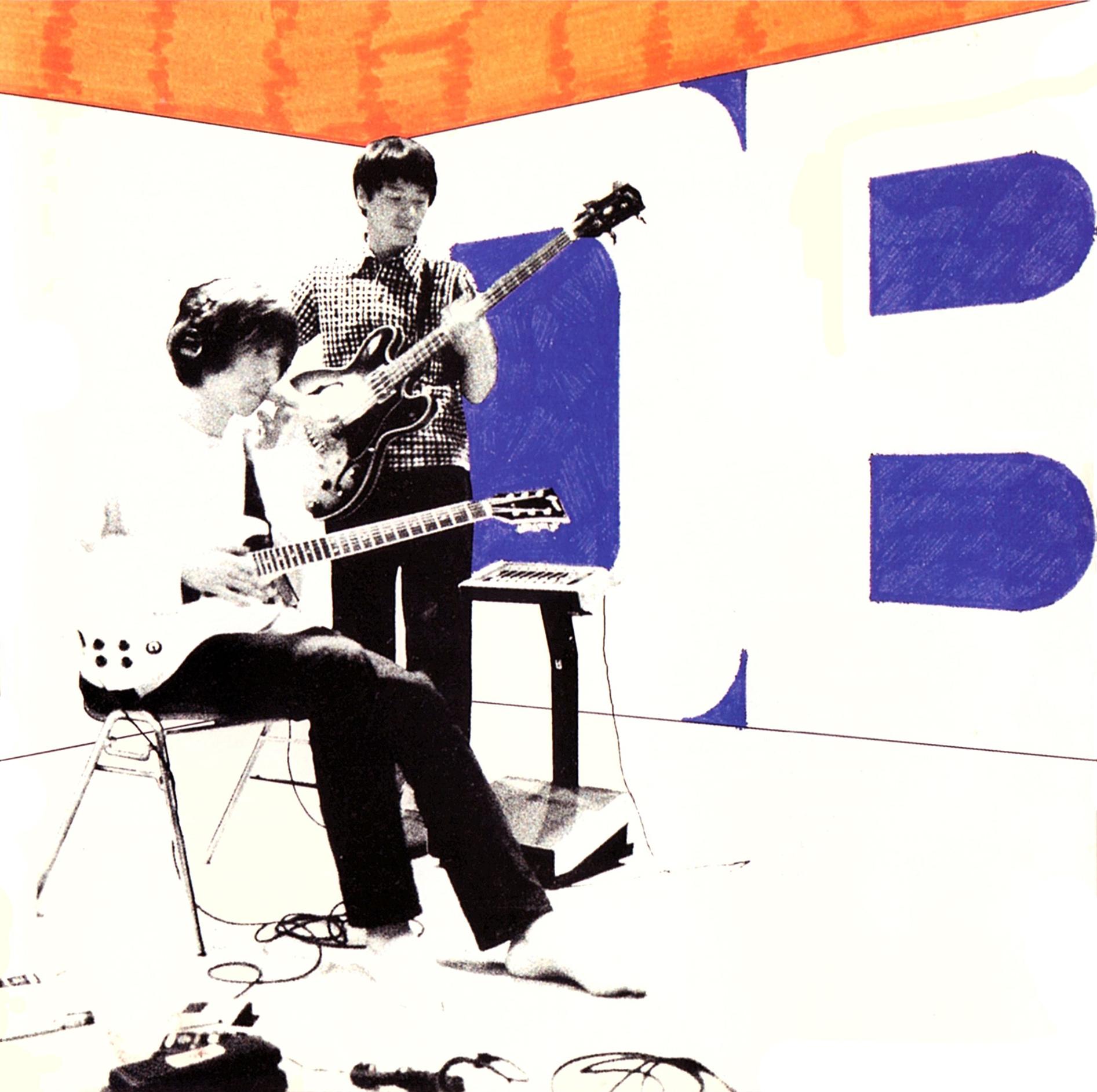 DOTS+BORDERS (ドッツ・アンド・ボーダーズ) 1stミニアルバム『TOKYO TAPES (トーキョー・テープス)』(1999年11月1日発売) 高画質CDジャケット画像 (ジャケ写)