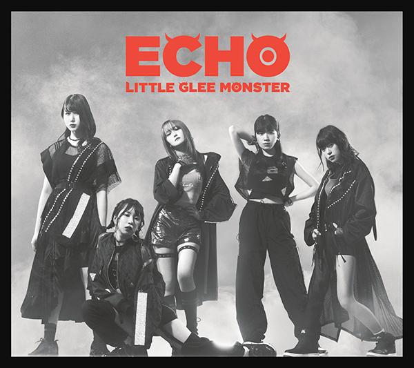 Little Glee Monster (リトル グリー モンスター) 15thシングル『ECHO (エコー)』(初回限定盤B) 高画質CDジャケット画像 (ジャケ写)