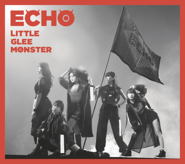 Little Glee Monster (リトル グリー モンスター) 15thシングル『ECHO (エコー)』(初回限定盤A) 高画質CDジャケット画像 (ジャケ写)
